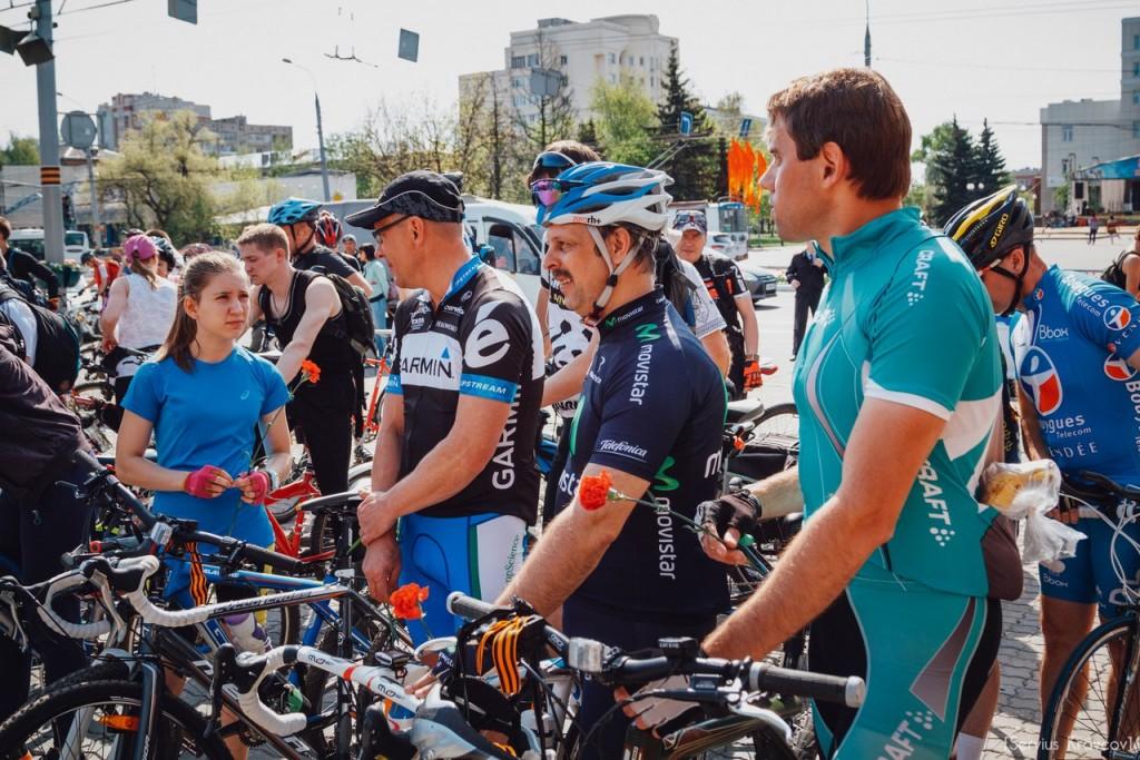 2016.05.08 - Старт велопробега к 71-й годовщине Победы 11