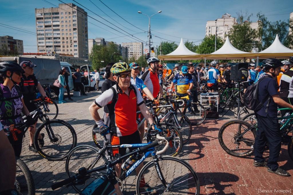 2016.05.08 - Старт велопробега к 71-й годовщине Победы 16