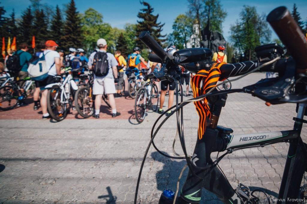 2016.05.08 - Старт велопробега к 71-й годовщине Победы 17