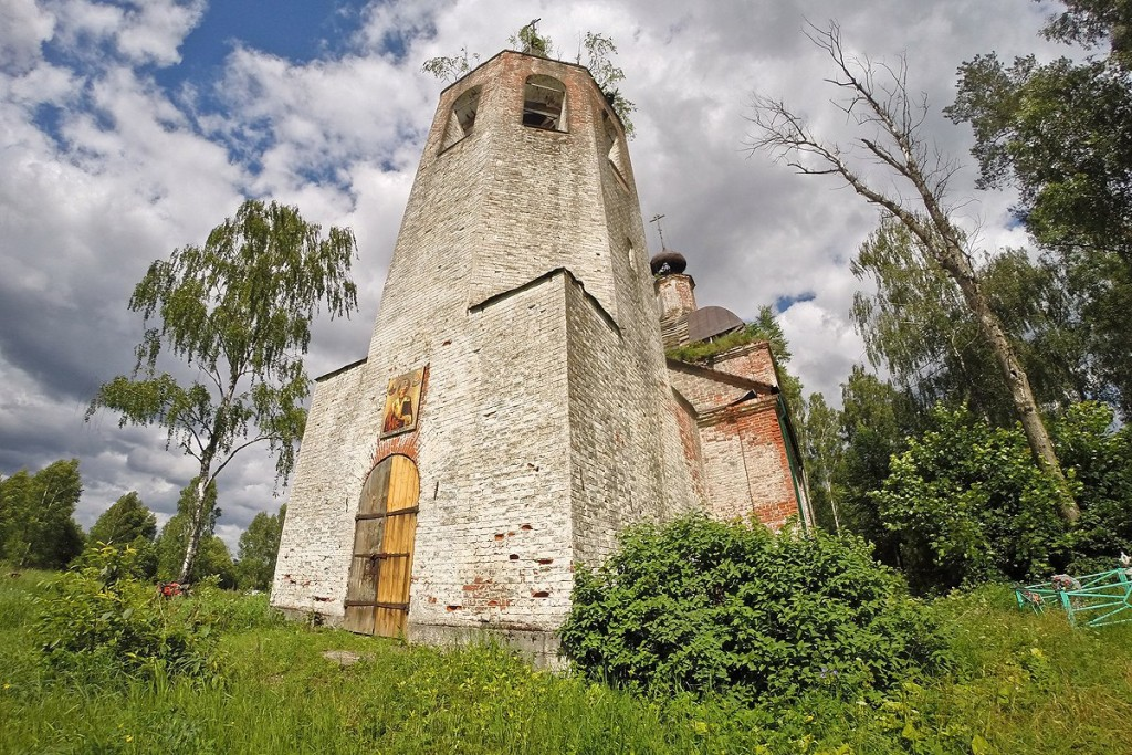 Алачино. Церковь Николая Чудотворца 02