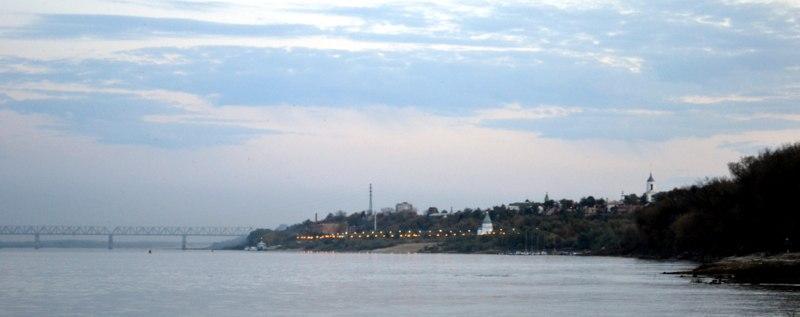 Вечерний Муром. Панорама