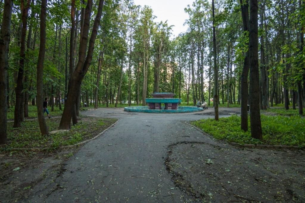 Вопрос восстановления парка на ул. Горького 01