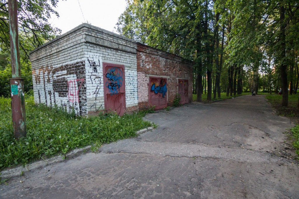 Вопрос восстановления парка на ул. Горького 05