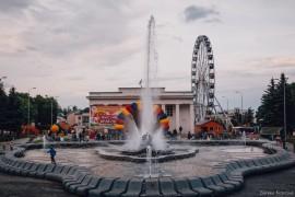 Как прошел фестиваль красок Холи во Владимире (2016)