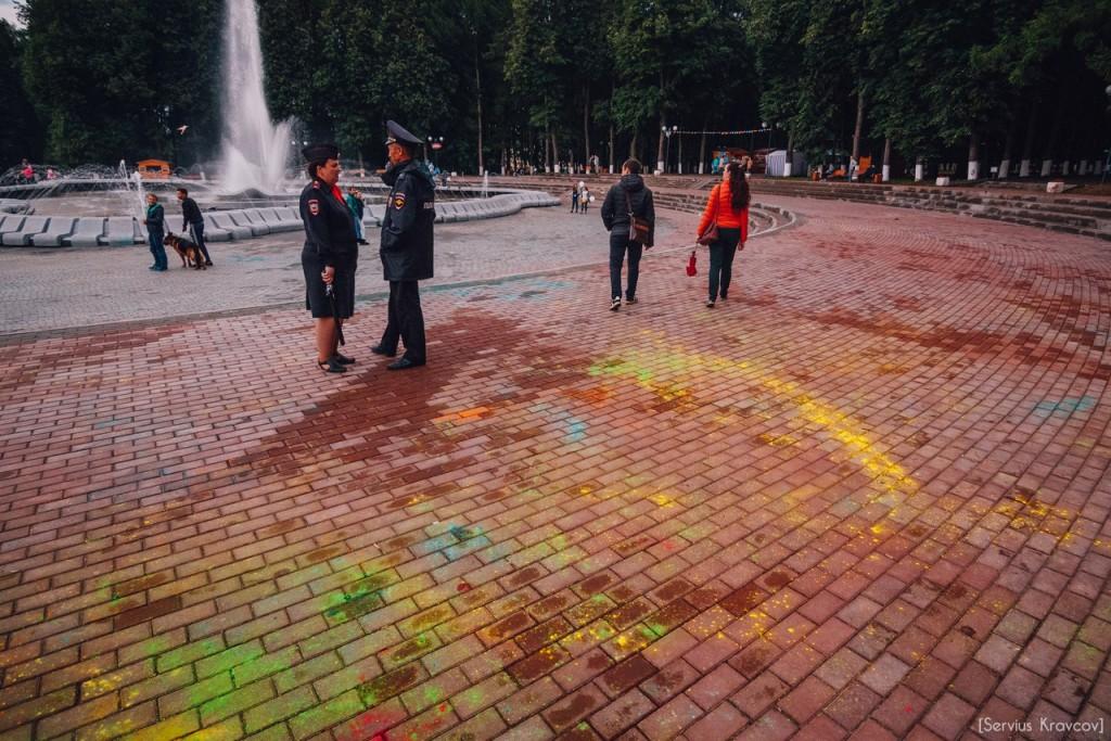 Как прошел фестиваль красок Холи во Владимире (2016) 04
