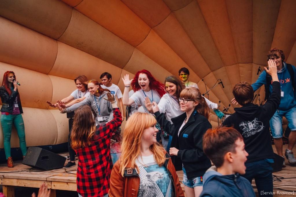 Как прошел фестиваль красок Холи во Владимире (2016) 05