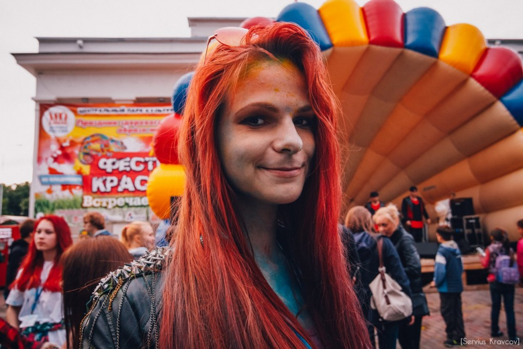 Как прошел фестиваль красок Холи во Владимире (2016) 08