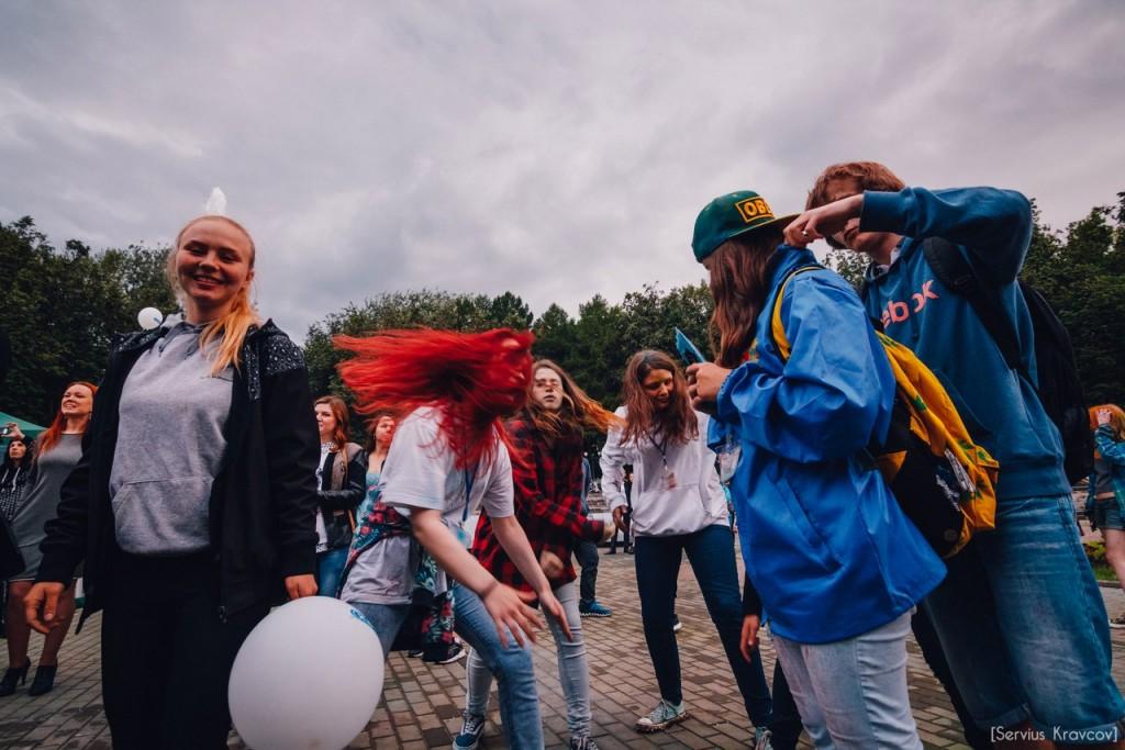 Как прошел фестиваль красок Холи во Владимире (2016) 09