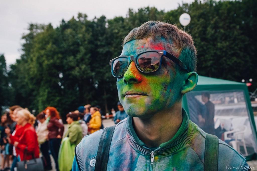 Как прошел фестиваль красок Холи во Владимире (2016) 11
