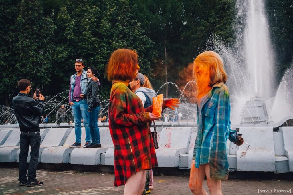Как прошел фестиваль красок Холи во Владимире (2016) 15