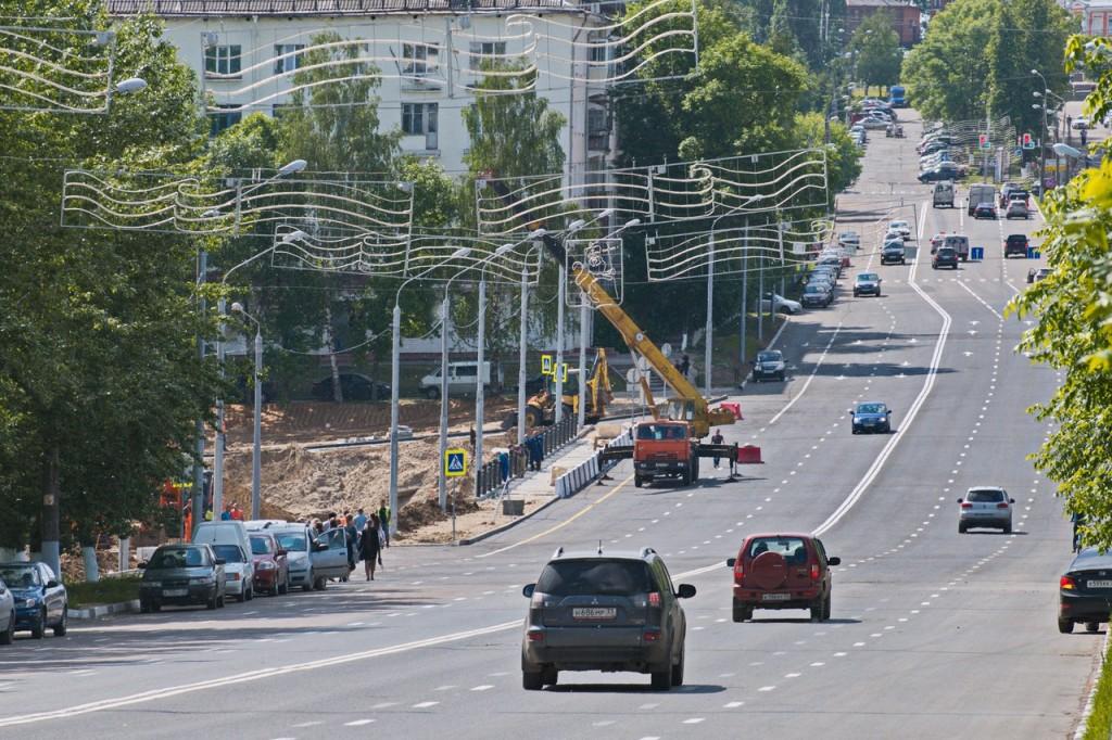 Мост на октябрьском проспекте во Владимире 01