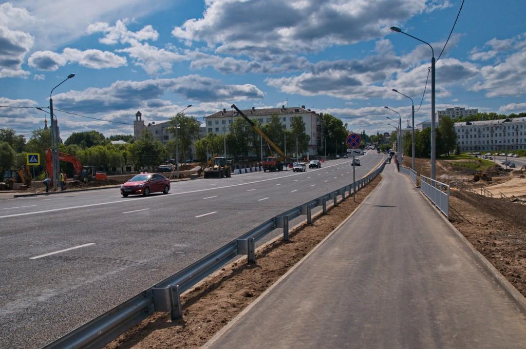Мост на октябрьском проспекте во Владимире 02