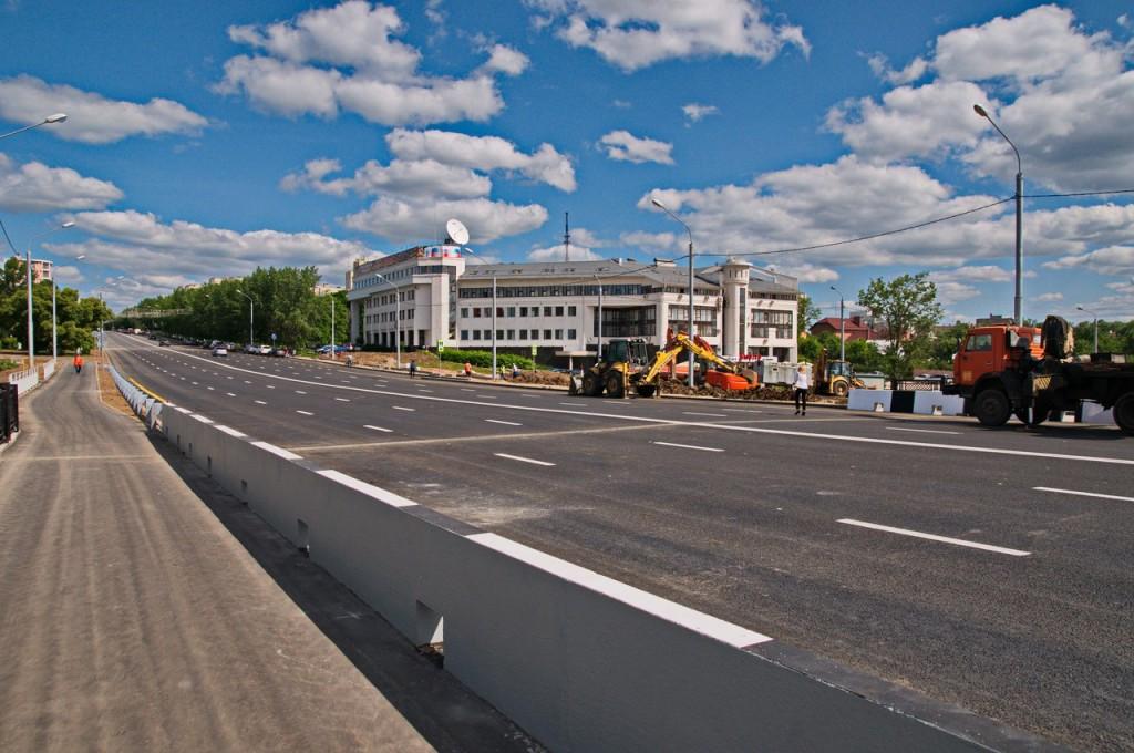 Мост на октябрьском проспекте во Владимире 05