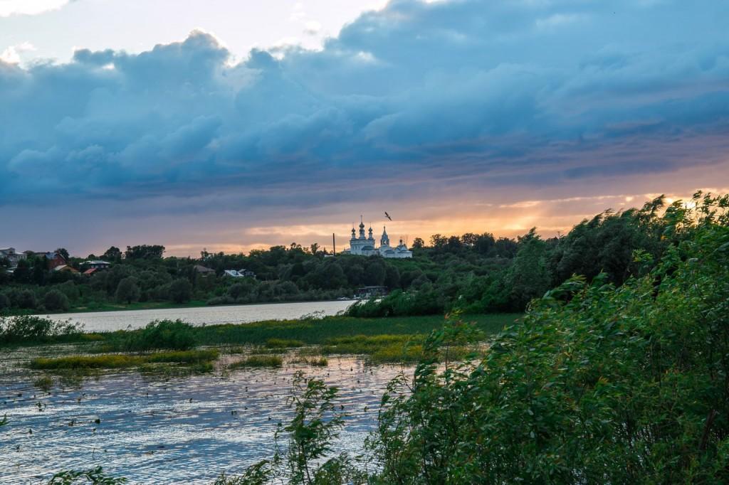 На закате в Муромском районе 03
