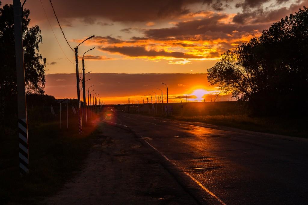 На закате в Муромском районе 06