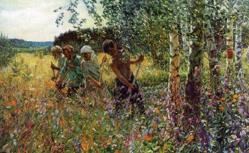 Пластов Аркадий Александрович картины 02