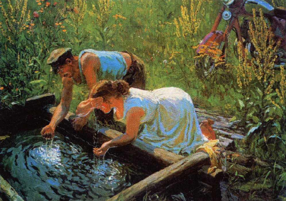 Пластов Аркадий Александрович картины 06