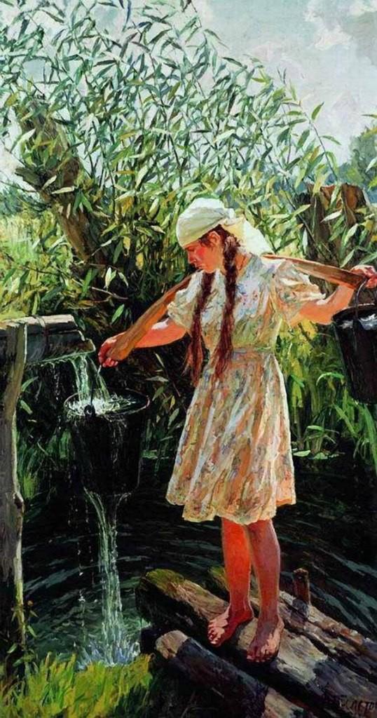 Пластов Аркадий Александрович картины 07