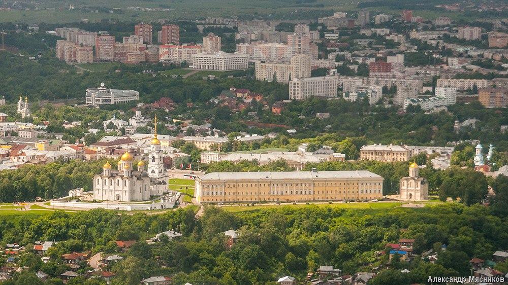 Полеты над Владимиром и областью 13