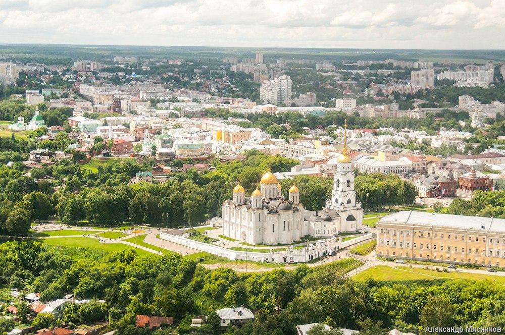 Полеты над Владимиром и областью 15