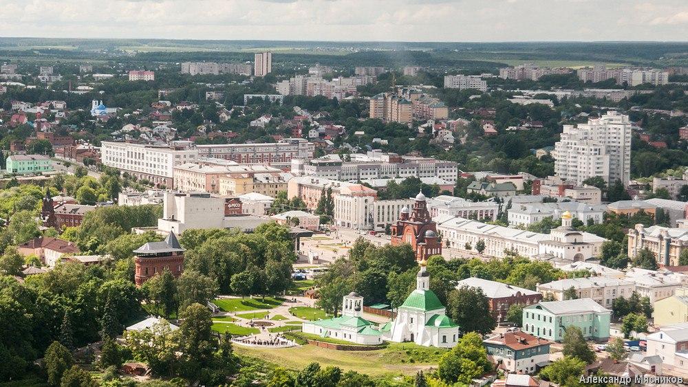 Полеты над Владимиром и областью 17
