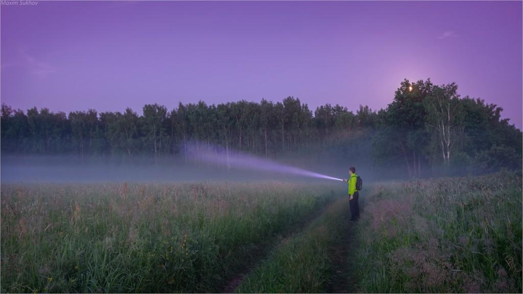 Самая короткая ночь и очень красочный рассвет в Вязниках 01