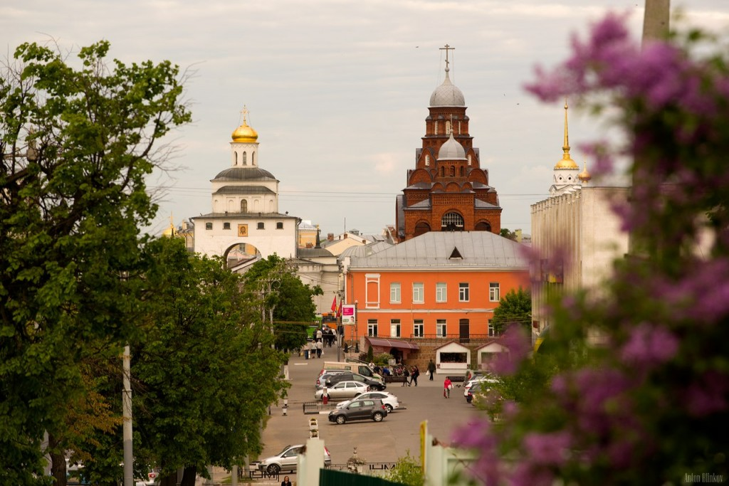 г. Владимир, вид на центр города