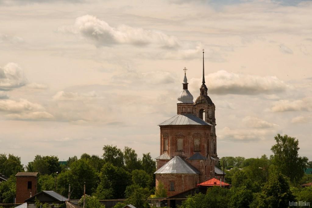 г. Суздаль, церковь Бориса и Глеба, 1749г.