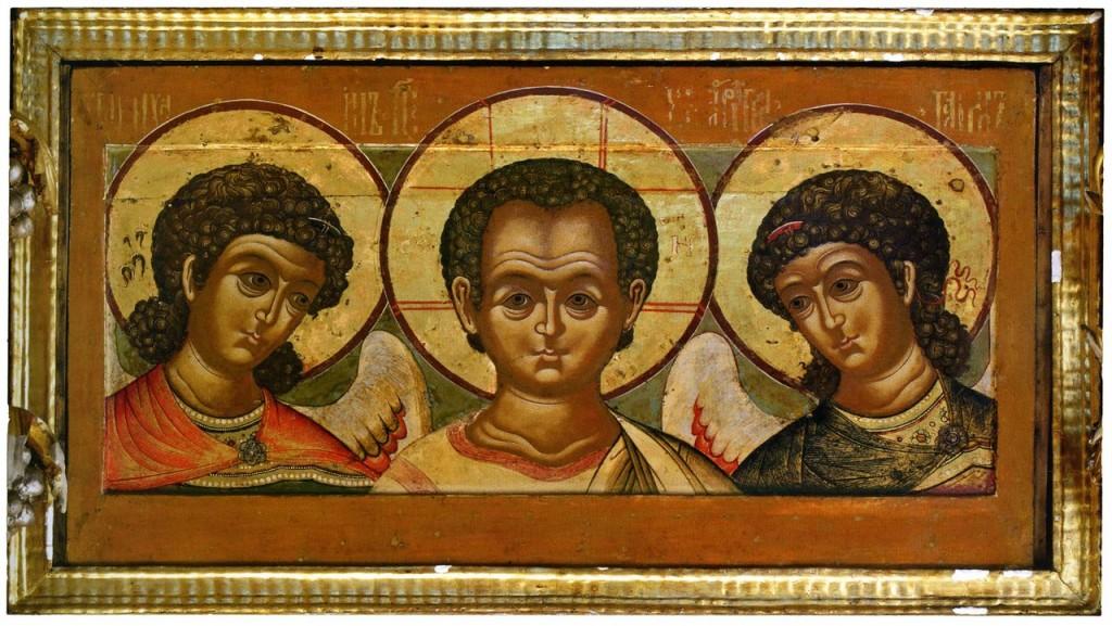 Деисус Эммануил с архангелами