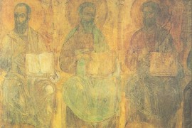 Древние фрески Дмитриевского собора