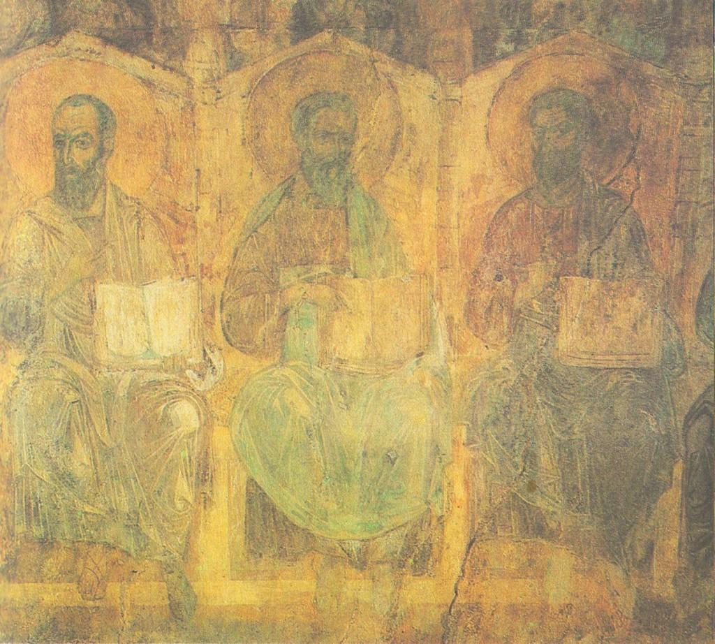 Древние фрески Дмитриевского собора 01