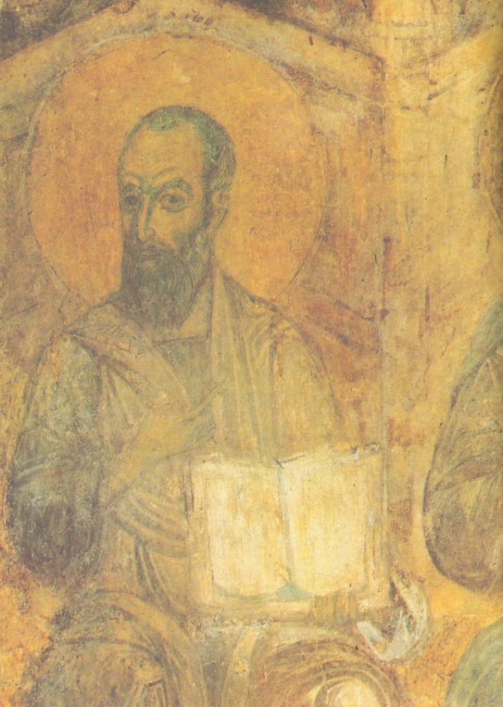 Древние фрески Дмитриевского собора 02