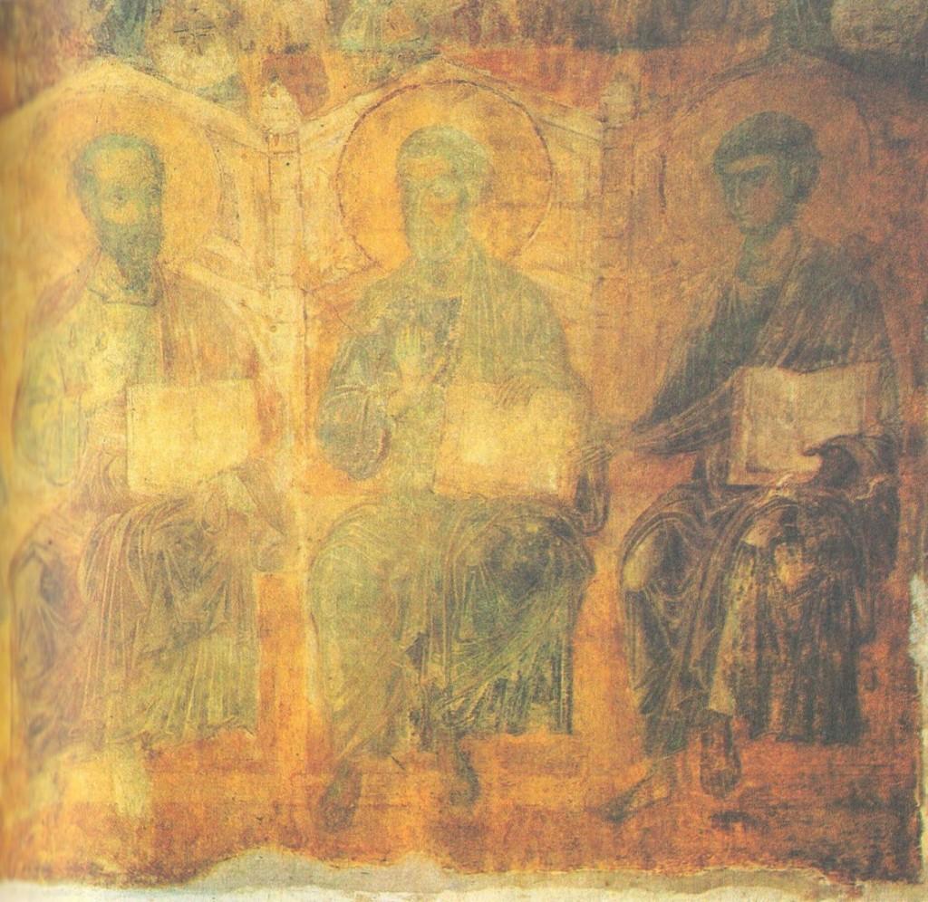 Древние фрески Дмитриевского собора 03