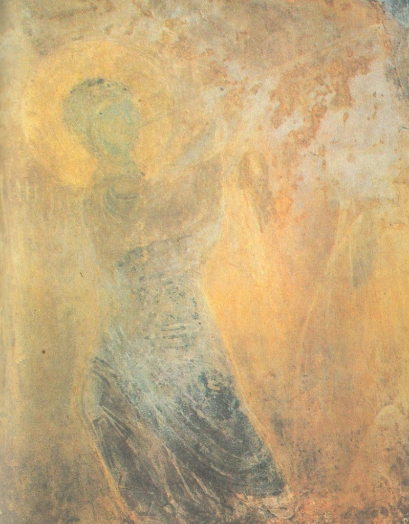 Древние фрески Дмитриевского собора 05