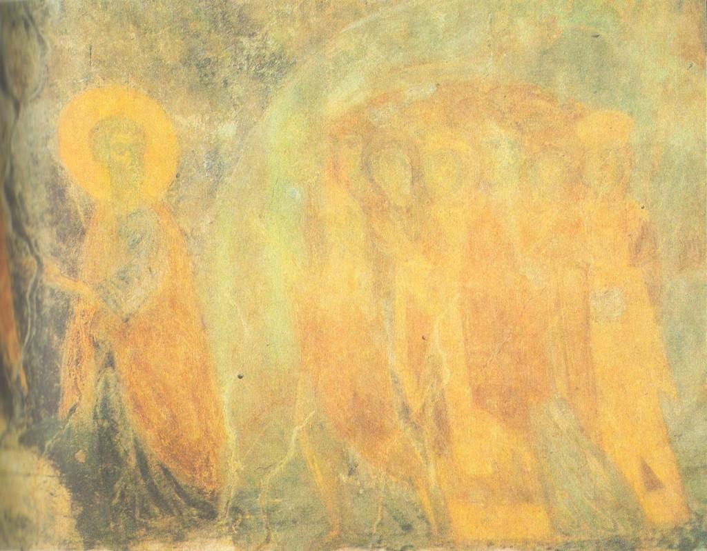 Древние фрески Дмитриевского собора 06