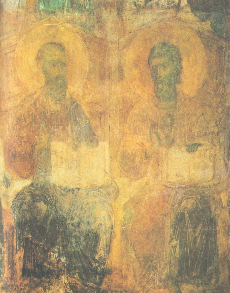 Древние фрески Дмитриевского собора 07