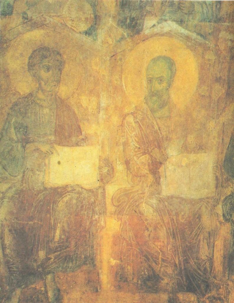 Древние фрески Дмитриевского собора 08