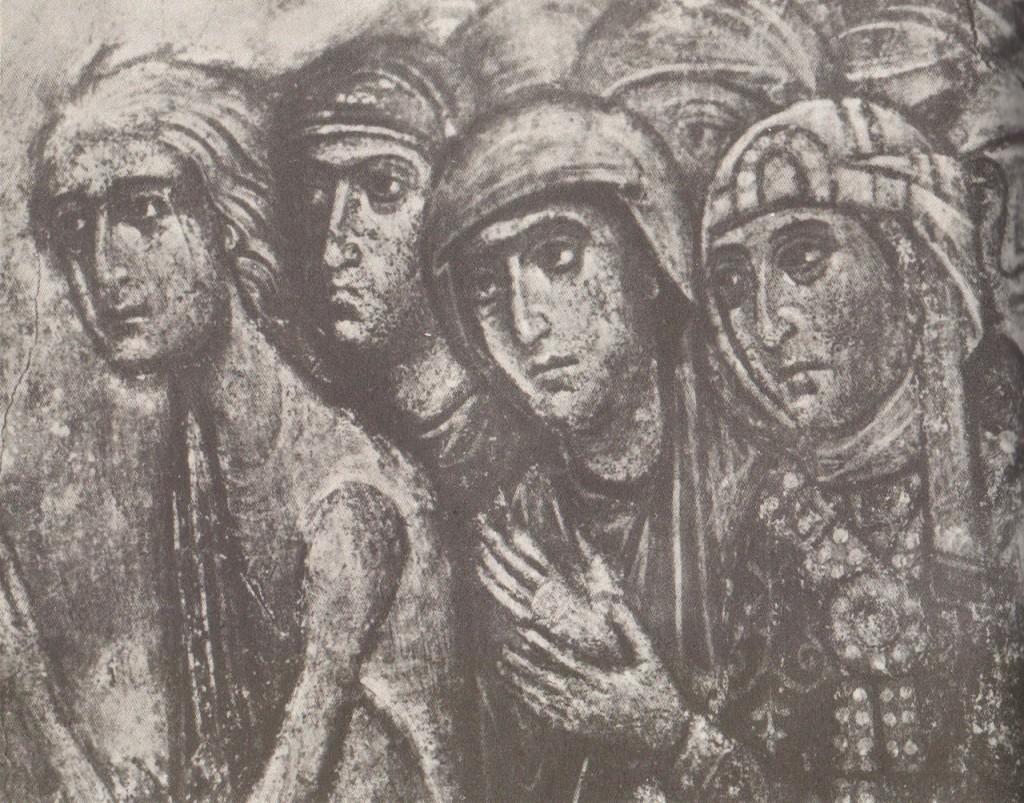 Древние фрески Дмитриевского собора 09