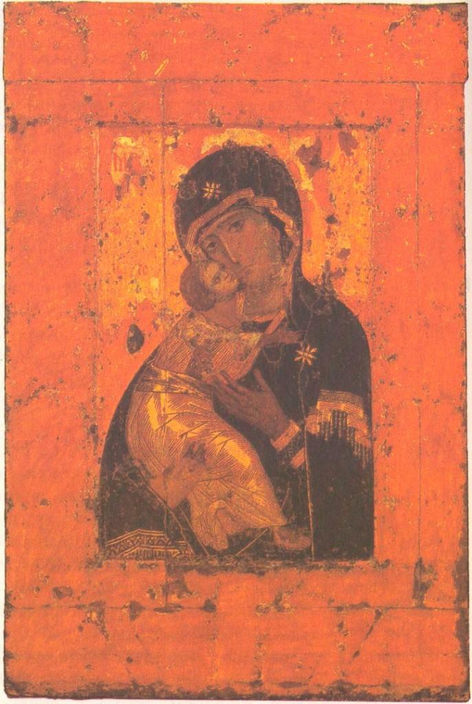 Икона «Богоматерь Владимирская»