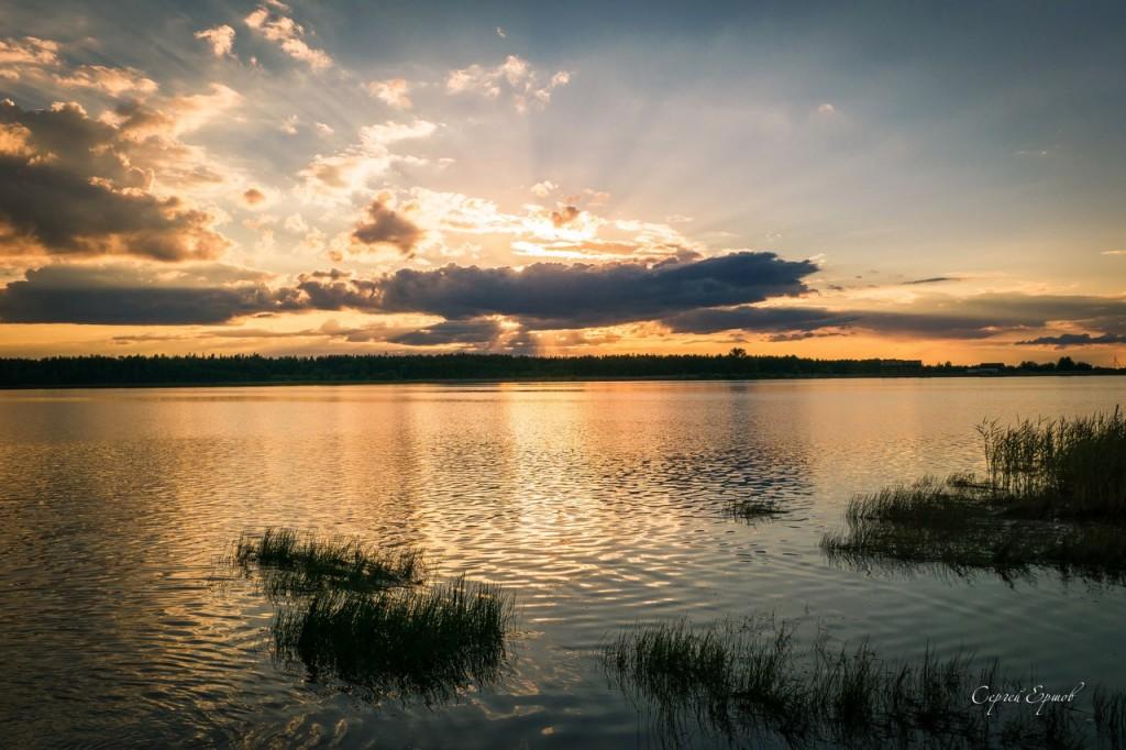 Красота и великолепие летних закатов в России