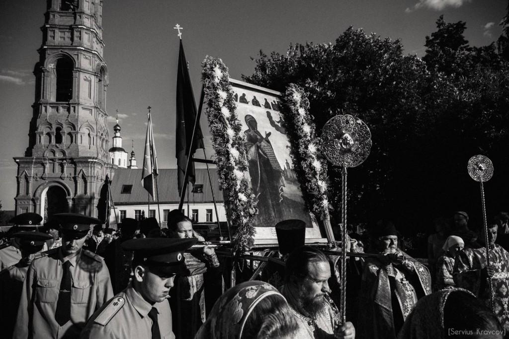 Крестный ход в честь праздника Боголюбской иконы Божьей матери 09