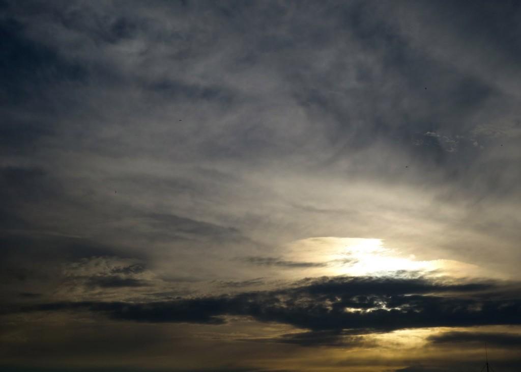 Летнее небо в Покрове (Возле стадиона)