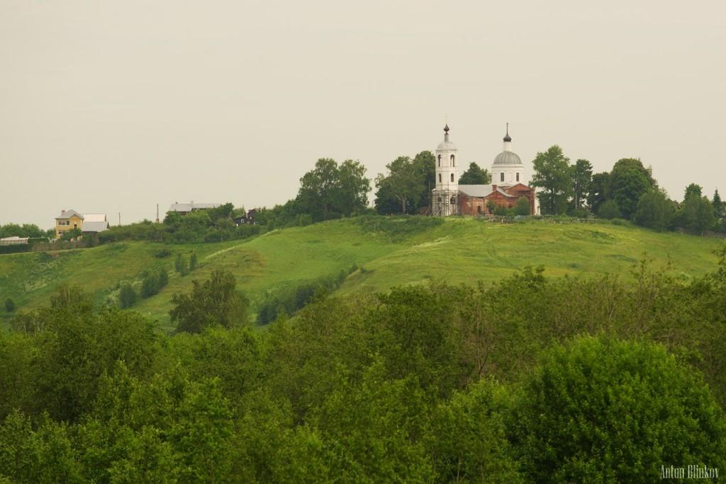 Летний пейзаж с. Горицы, Суздальский район. Автор - Антон Блинков