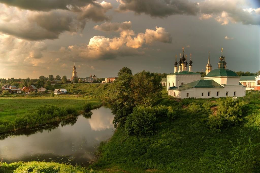 Майский вечер в Суздале.. © Гордеев Эдуард