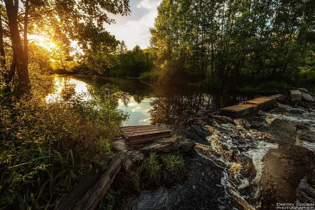 Меленковский район. Лето на реке Унжа 01