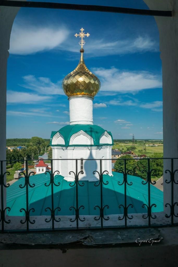 На колокольне Васильевского монастыря. Суздаль 01