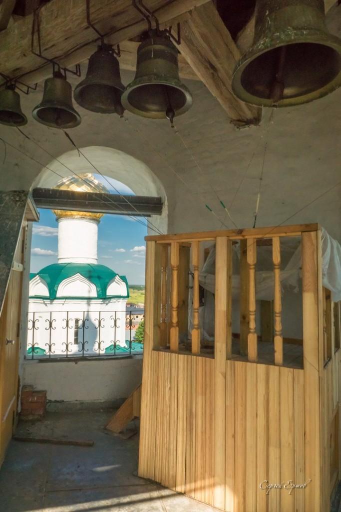 На колокольне Васильевского монастыря. Суздаль 05