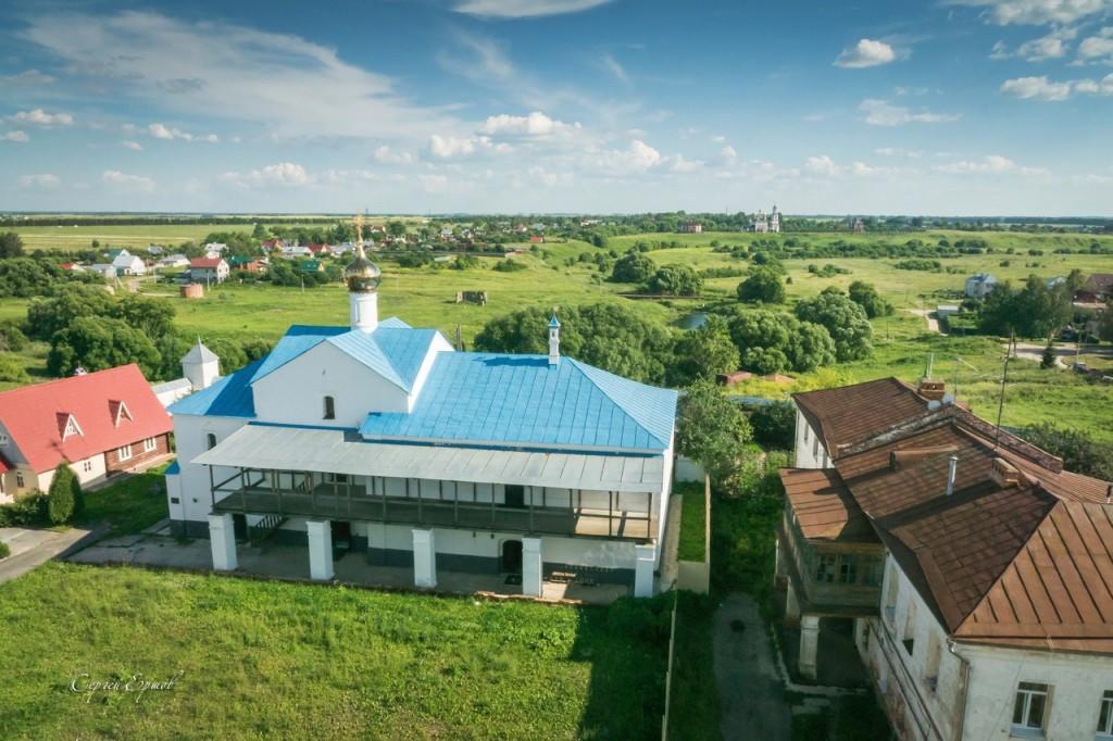 На колокольне Васильевского монастыря. Суздаль 06