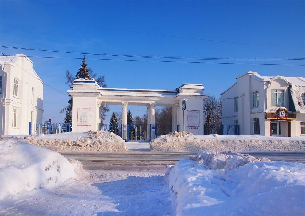 Окский парк и Смотровая площадка с памятником Илье Муромцу 03