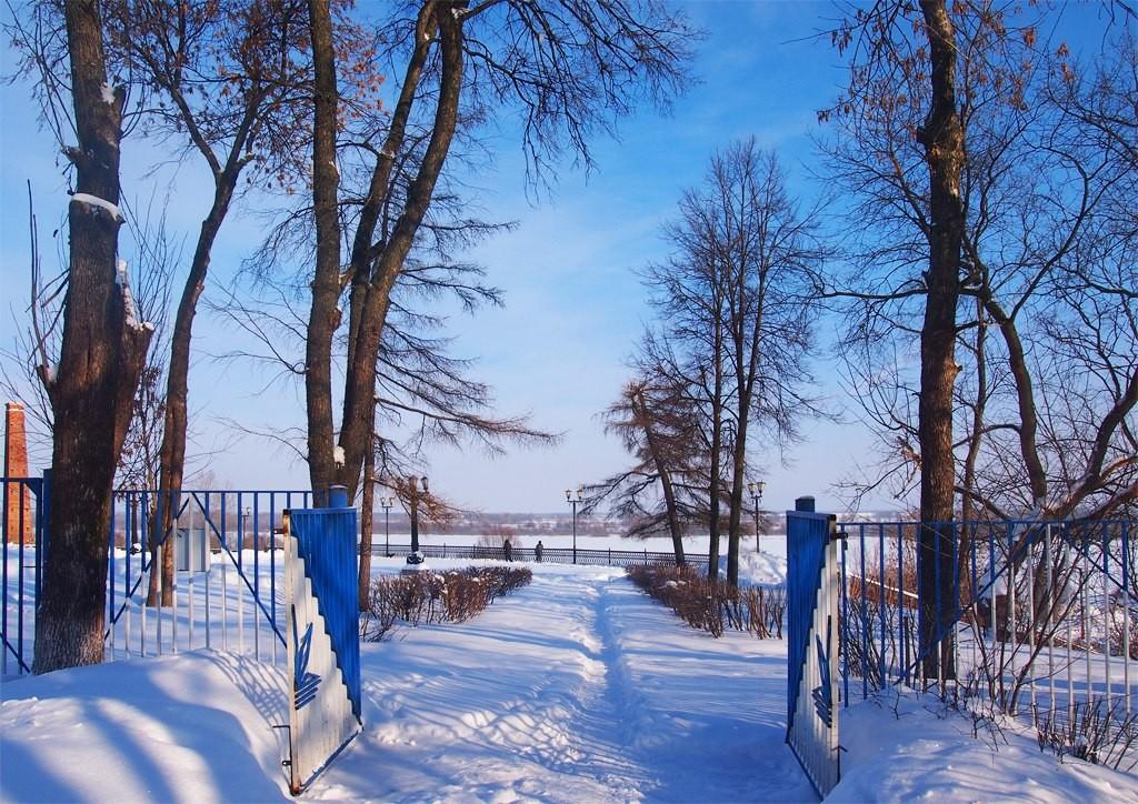 Окский парк и Смотровая площадка с памятником Илье Муромцу 04